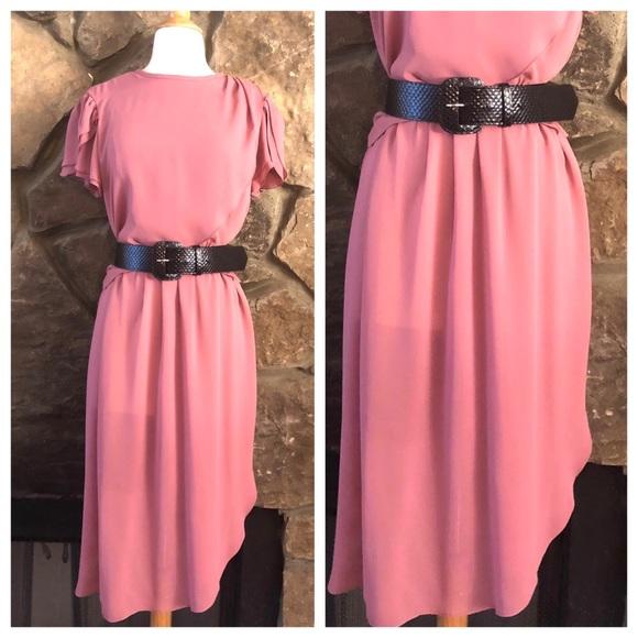 Pink Disco Dress